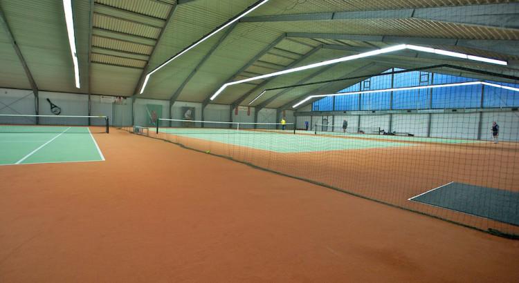 Tennishalle im FTG Sportgarten