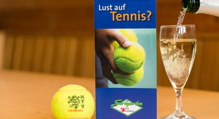 Lust auf Tennis